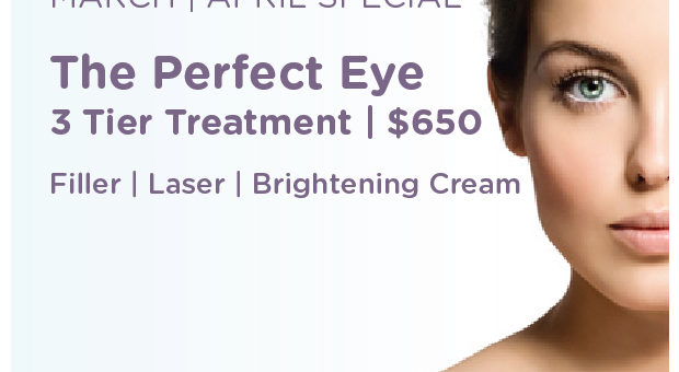 BBL Laser Anti-aging Eye Treatment - April Special at Aesthetica